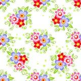 Helder bloemen naadloos patroon Royalty-vrije Stock Afbeelding