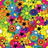 Helder bloempatroon royalty-vrije stock foto