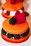 Helder dessert Royalty-vrije Stock Afbeeldingen