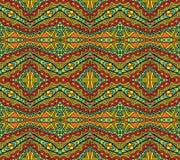 Helder etnisch patroon vector illustratie