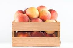 Helder gekleurde perziken. Royalty-vrije Stock Fotografie