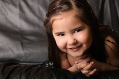 Helder Gelukkig Kind stock fotografie