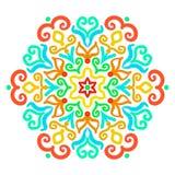 Helder Hexagon Ornament Stock Afbeeldingen
