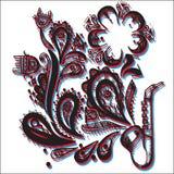 Helder kleurrijk geluid Royalty-vrije Stock Afbeelding