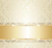 Helder luxe uitstekend behang Royalty-vrije Stock Fotografie