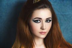 Helder meisje royalty-vrije stock foto's