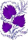 Helder mooi decoratief boeket van bloemen Royalty-vrije Stock Afbeelding