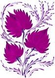 Helder mooi decoratief boeket van bloemen Stock Afbeelding