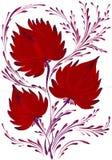 Helder mooi decoratief boeket van bloemen Stock Foto's