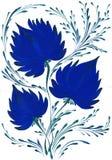 Helder mooi decoratief boeket van bloemen Royalty-vrije Stock Afbeeldingen