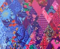 Helder multi-colored materiaal Royalty-vrije Stock Afbeelding