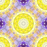 Helder naadloos abstract patroon, mandala Stock Foto's
