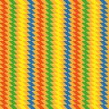 Helder naadloos eenvoudig patroon stock illustratie