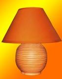 Helder oranje licht Stock Foto's