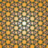 Helder patroon van geometrische vormen Royalty-vrije Stock Foto's