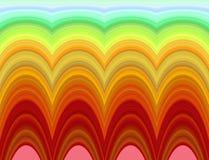 Helder psychedelisch patroon vector illustratie