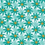 Helder Tropisch Installatiepatroon met Citrusvruchten stock illustratie