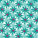 Helder Tropisch Installatiepatroon met Roze Fruit royalty-vrije illustratie