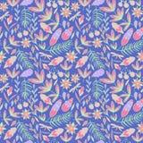 Helder vector bloemenpatroon Vector Illustratie