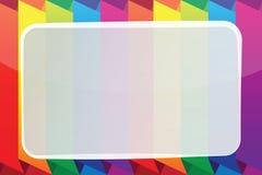 Helder vectorkader Stock Afbeeldingen