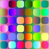 Helder vierkantenpatroon vector illustratie