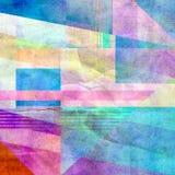 Heldere Abstracte Achtergrond Stock Afbeelding