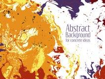 Heldere abstracte ebru die vectorachtergrond marmeren Royalty-vrije Stock Foto