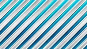 Heldere abstracte glanzende de strepen videoanimatie van technologie stock videobeelden