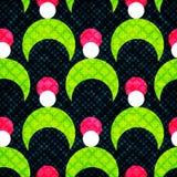 Heldere abstracte psychedelische achtergrond Vector illustratie Stock Fotografie