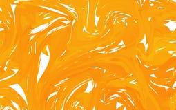 Heldere Abstracte Vectorachtergrond met Wervelingen en Golven Buitengewone Illustratie voor Ontwerp met whhite en Rood stock illustratie