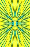 Heldere achtergrond De stralen divergeren van het midden aan de randen vector illustratie