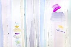 Heldere achtergrond van een hulppleister, verf in pastelkleuren Stock Afbeelding