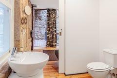 Heldere badkamers Stock Fotografie