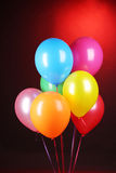 Heldere ballons stock foto's