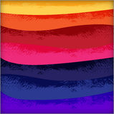 Heldere blauwe abstracte achtergrond Royalty-vrije Stock Foto