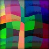 Heldere blauwe abstracte achtergrond Stock Foto