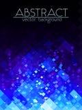 Heldere blauwe net abstracte verticale achtergrond Stock Afbeelding