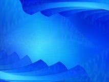 Heldere blauwe scène Royalty-vrije Stock Foto