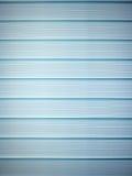 Heldere blauwe vensterzonneblinden Stock Afbeelding