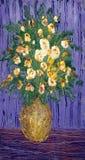 Heldere bloemen stock illustratie