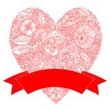 Heldere bloemen romantische achtergrond Royalty-vrije Stock Foto
