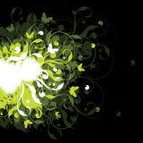 Heldere BloemenAchtergrond Vector Illustratie