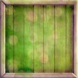 Heldere de lente houten achtergrond Stock Afbeeldingen