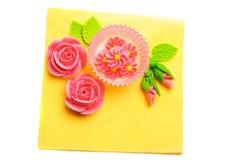 Heldere decoratie in gelukkige geïsoleerde. kleuren. Royalty-vrije Stock Foto