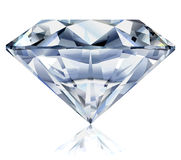 Heldere diamantillustratie Royalty-vrije Stock Afbeeldingen