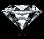Heldere diamantillustratie Stock Afbeelding