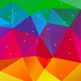 Heldere gekleurde achtergrond Royalty-vrije Stock Afbeelding