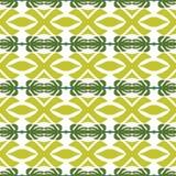 Heldere geometrische achtergrond in traditionele tegelstijl Ontwerp voor druk op stof, document, omslag Naadloos patroon royalty-vrije illustratie