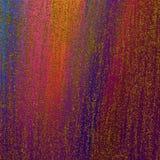 Heldere gestreepte kunstwerkoppervlakte Hand getrokken samenvatting geschilderde oppervlakte Kwaststrekenkunstwerk Schitter versp royalty-vrije illustratie