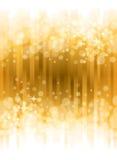 Heldere Gouden Achtergrond Stock Fotografie